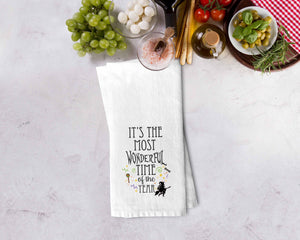 Most Wonderful Time of the Year Kitchen Towel - Potter's Printing