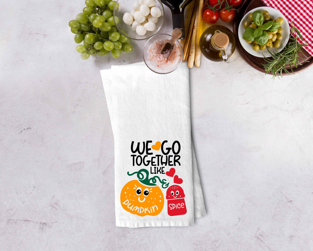 Pumpkin Spice Kitchen Towel - Potter's Printing