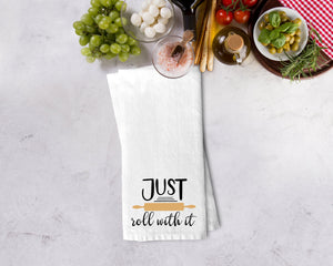 Just Roll with It Kitchen Towel - Potter's Printing