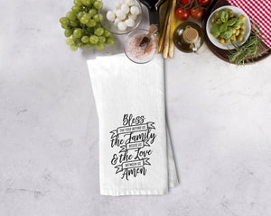Bless This Food Kitchen Towel - Potter's Printing