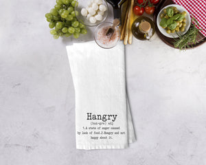 Hangry Kitchen Towel - Potter's Printing