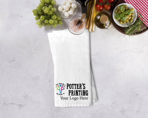 Custom Logo Kitchen Towel - Potter's Printing