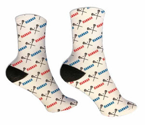 Lacrosse Personalized Socks - Potter's Printing