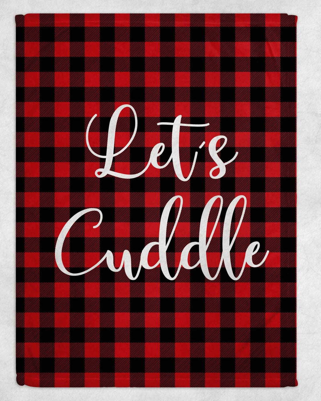 Let's Cuddle Fleece Blanket - Potter's Printing