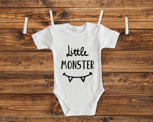 Little Monster Baby One Piece