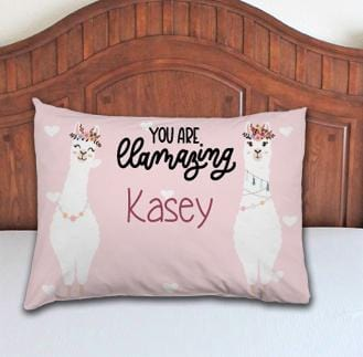 LLama Personalized Pillowcase - Potter's Printing