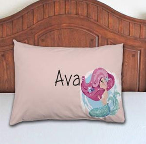 Mermaid Personalized Pillowcase - Potter's Printing