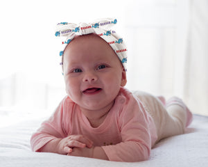 Narwhal Personalized Baby Headband - Potter's Printing