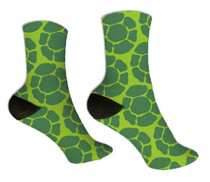 Ninja Turtle Shell Themed Socks - Potter's Printing