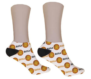Basketball Personalized Socks - Potter's Printing