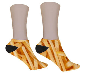 French Fry Socks - Potter's Printing