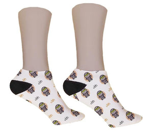 Cute Mummy Personalized Halloween Socks - Potter's Printing