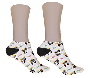 Teacher's Rule Personalized Socks - Potter's Printing