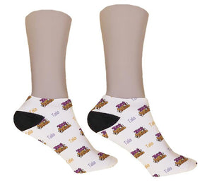 Trick or Treat Personalized Halloween Socks - Potter's Printing