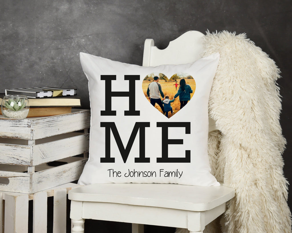 Personalized Home Throw Pillow