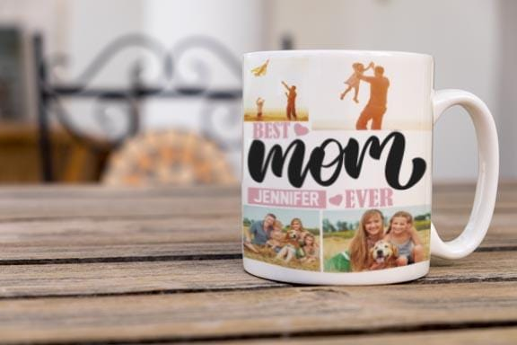 Personalized Best Mom Coffee Mug