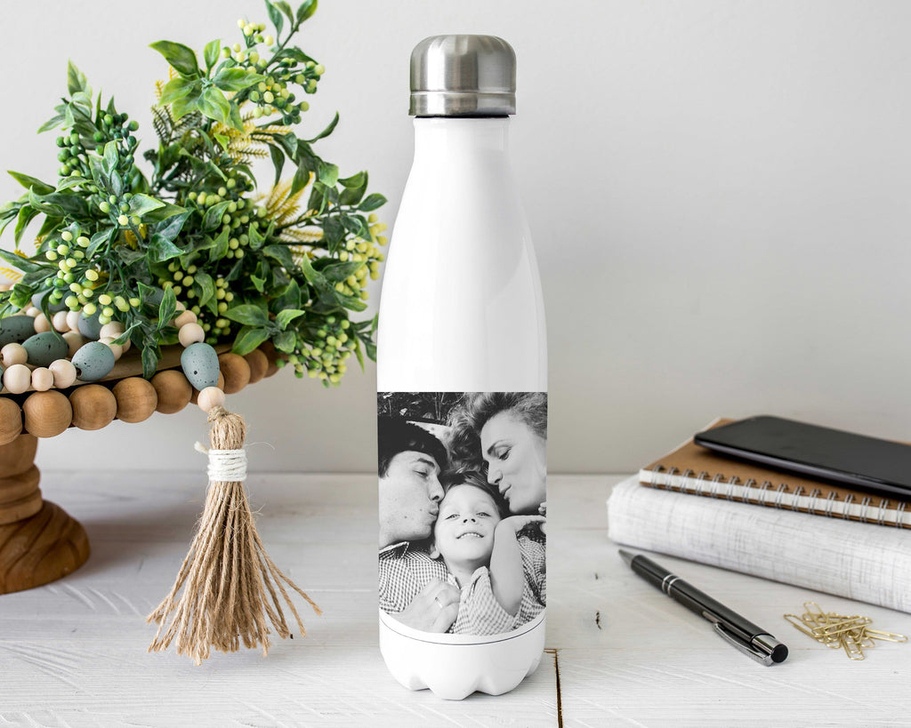 Personalized Image Stainless Steel Water Bottle
