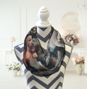 Photo Infinity Scarf - Potter's Printing