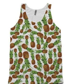 Pineapple Tank Top - Potter's Printing