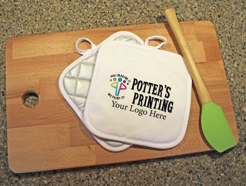 Custom Logo Pot Holder - Potter's Printing