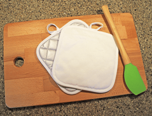 Linen Pot Holder Design Your Own