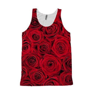 Roses Tank Top - Potter's Printing