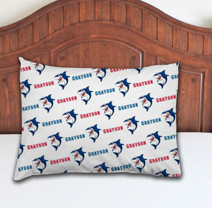 Shark Personalized Pillowcase - Potter's Printing