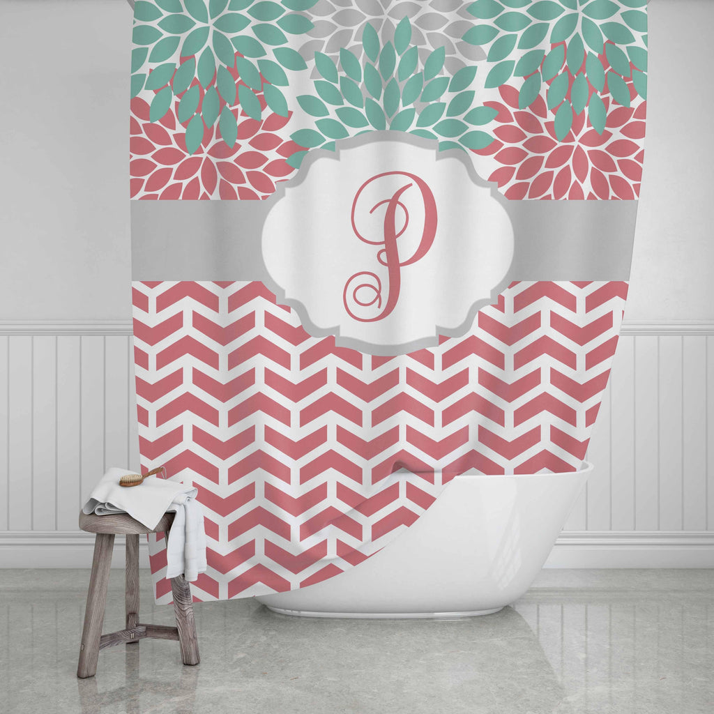 Flowers Persoanlized Shower Curtain - Potter's Printing