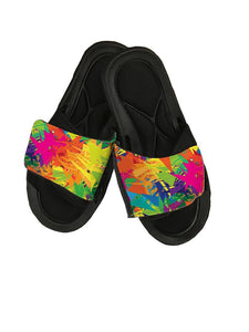 Abstract Slide Sandals - Potter's Printing