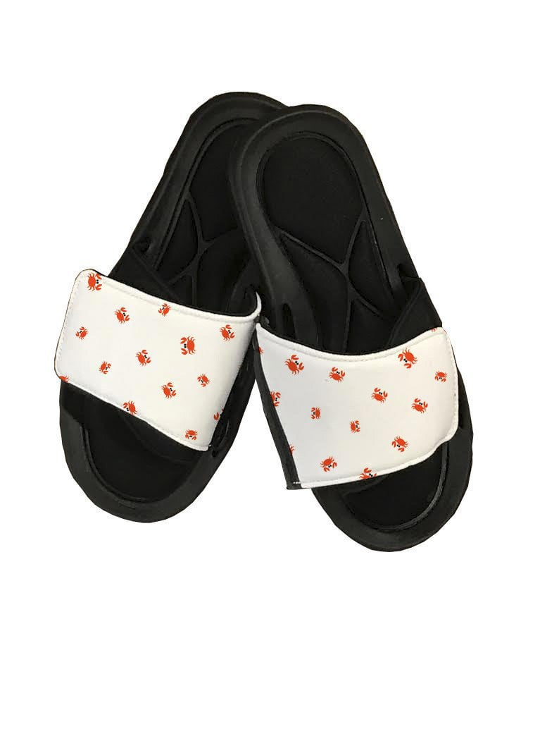 Crabs Slide Sandals - Potter's Printing