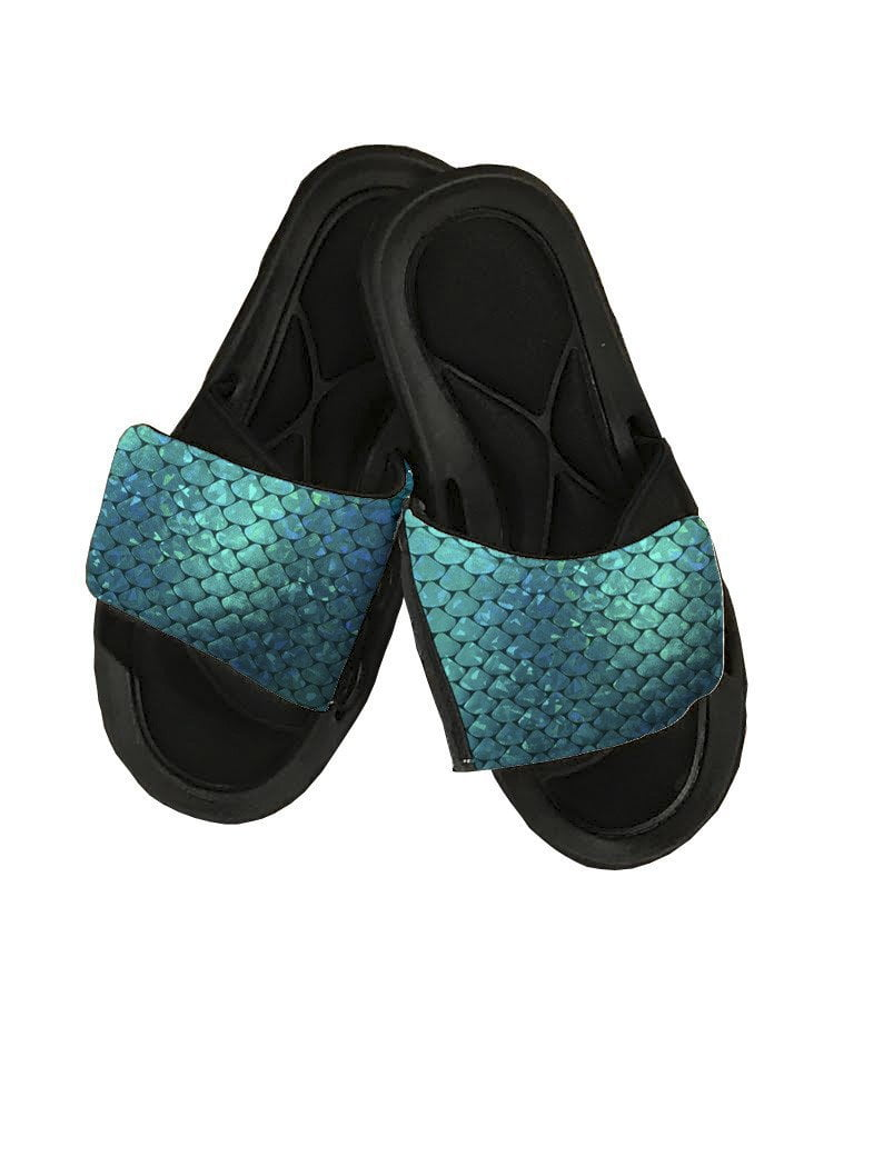 Mermaid Slide Sandals - Potter's Printing
