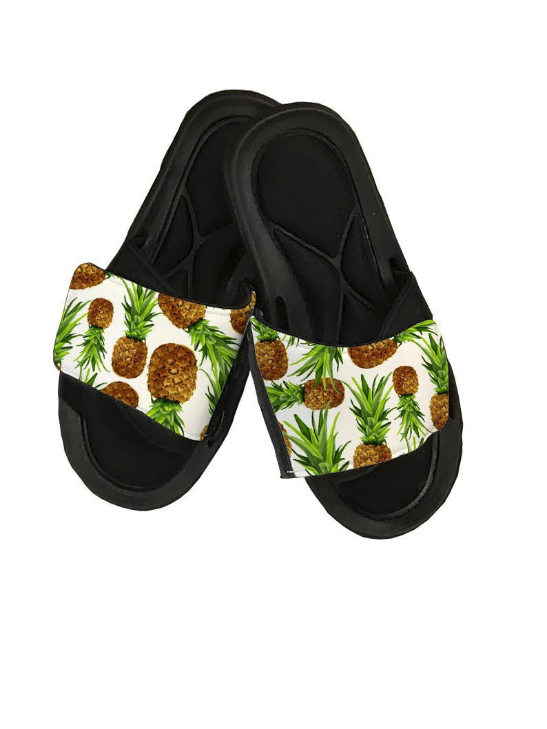 Pineapple Slide Sandals - Potter's Printing