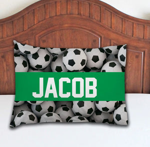 Soccer Personalized Pillowcase - Potter's Printing