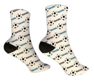 Soccer Personalized Socks - Potter's Printing