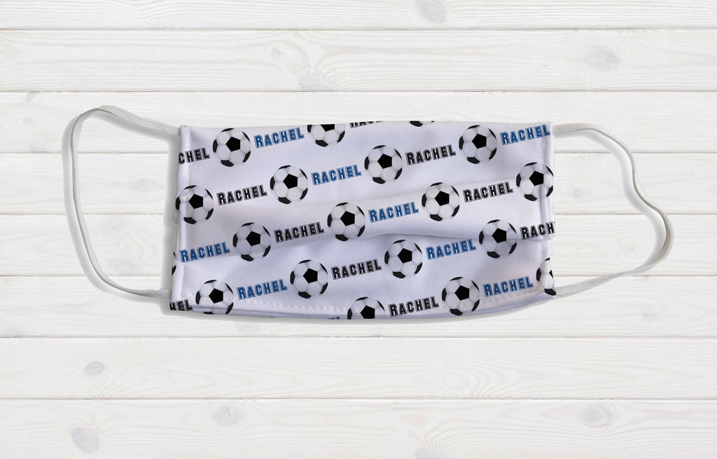 Soccer Personalized Face Mask - Potter's Printing