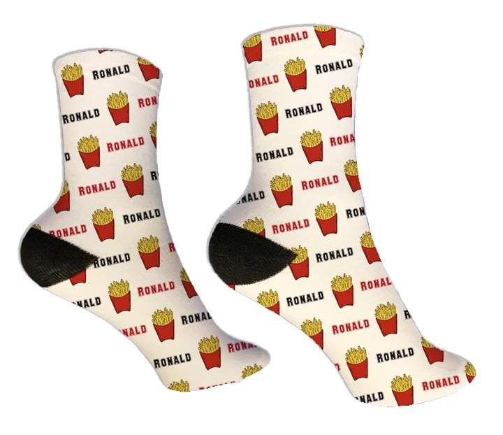 French Fries Personalized Socks - Potter's Printing