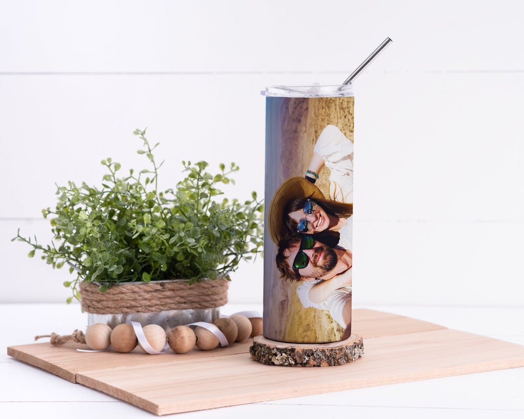 Custom Photo Stainless Steel Tumbler - Potter's Printing