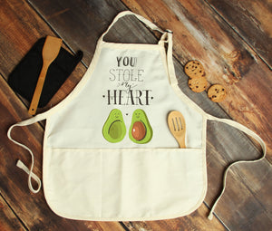 You Stole My Heart Personalized Apron - Potter's Printing