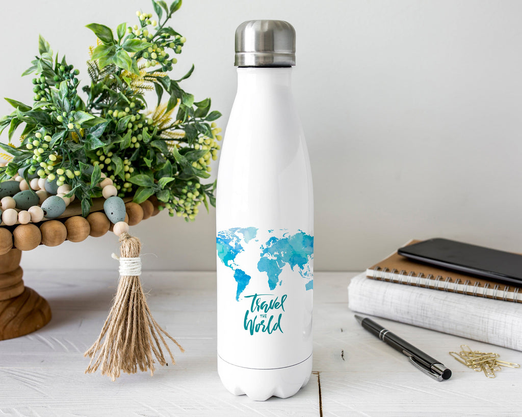 Travel Stainless Steel Water Bottle