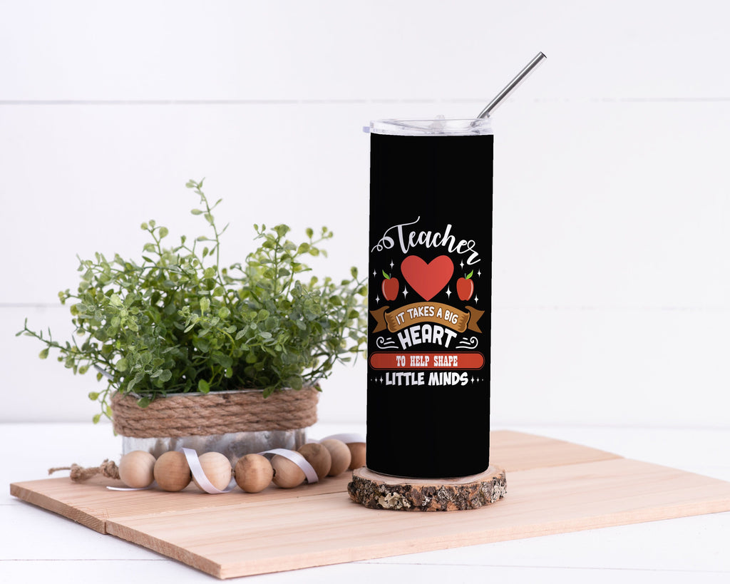 Teacher Stainless Steel Tumbler - Potter's Printing