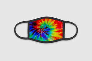Rainbow Tie-Dye 3 Ply Face Mask