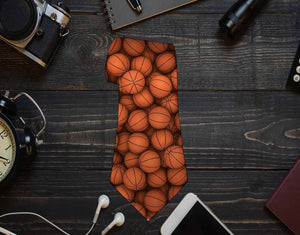 Basketball Neck Tie - Potter's Printing