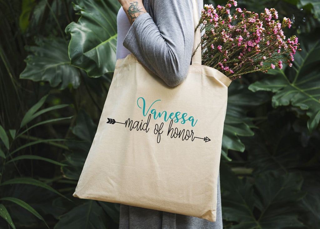 Maid Of Honor Tote Bag - Potter's Printing