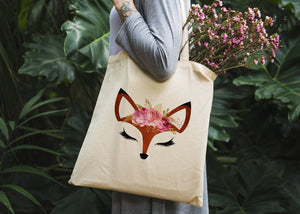 Fox Tote Bag - Potter's Printing