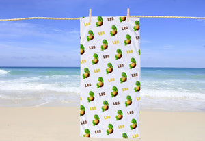 Turtle Personalized Beach Towel - Potter's Printing