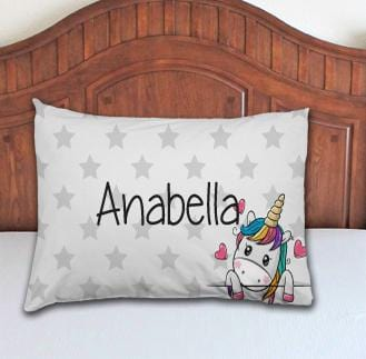 Unicorn Personalized Pillowcase - Potter's Printing