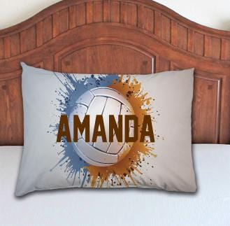 Volleyball Personalized Pillowcase - Potter's Printing