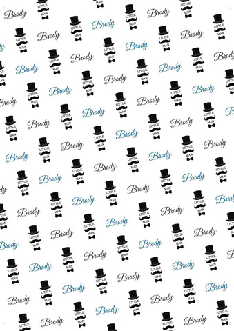 13th Birthday Personalized Birthday Gift Wrap