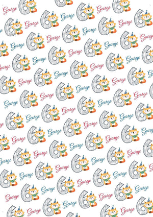 Personalized Birthday Number Tissue Paper  Bundle - Potter's Printing