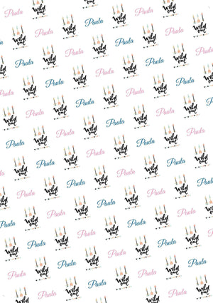 Wild One Birthday Personalized Birthday Gift Wrap - Potter's Printing